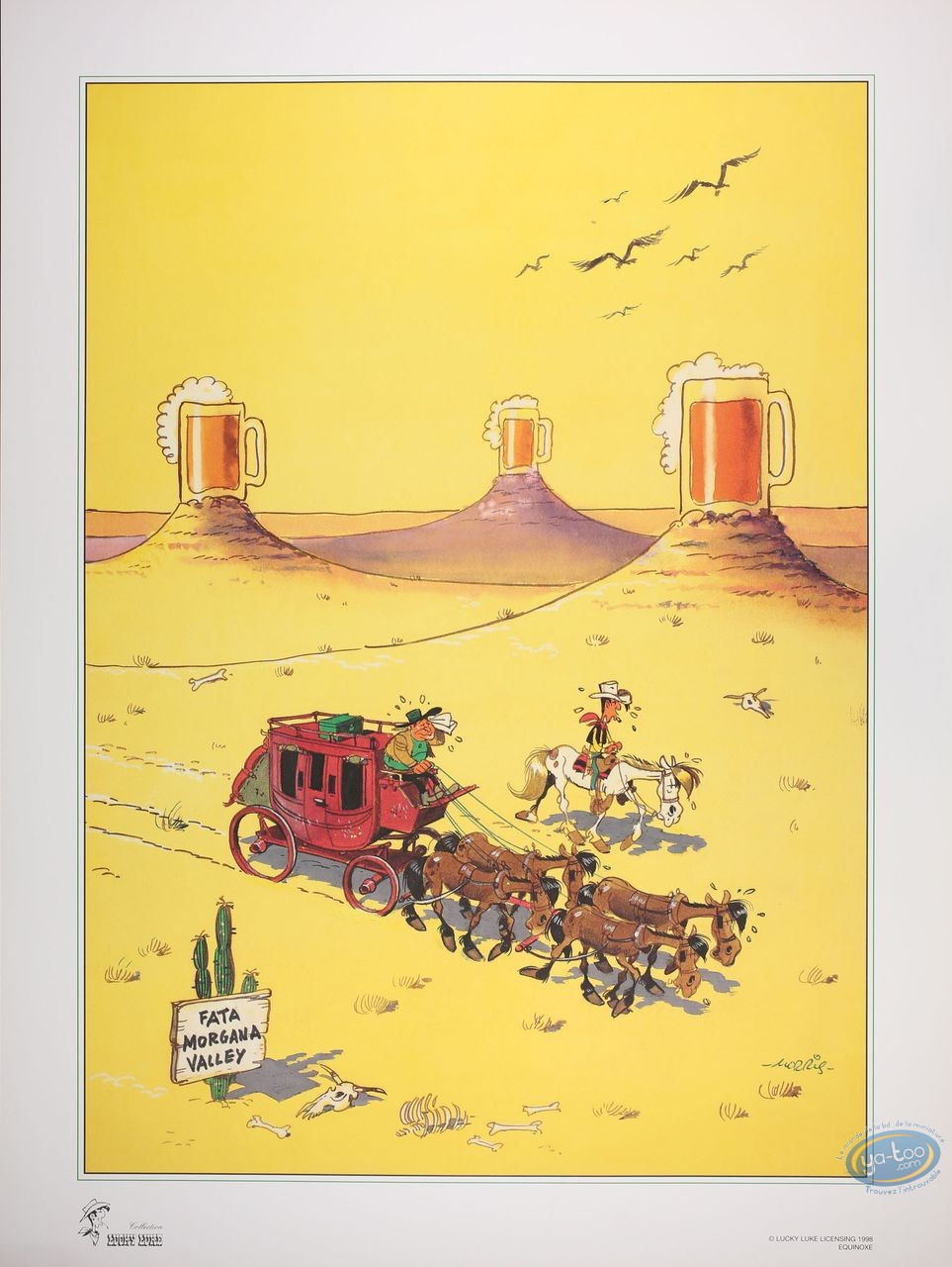 Affiche Offset, Lucky Luke : Mirage (grand)