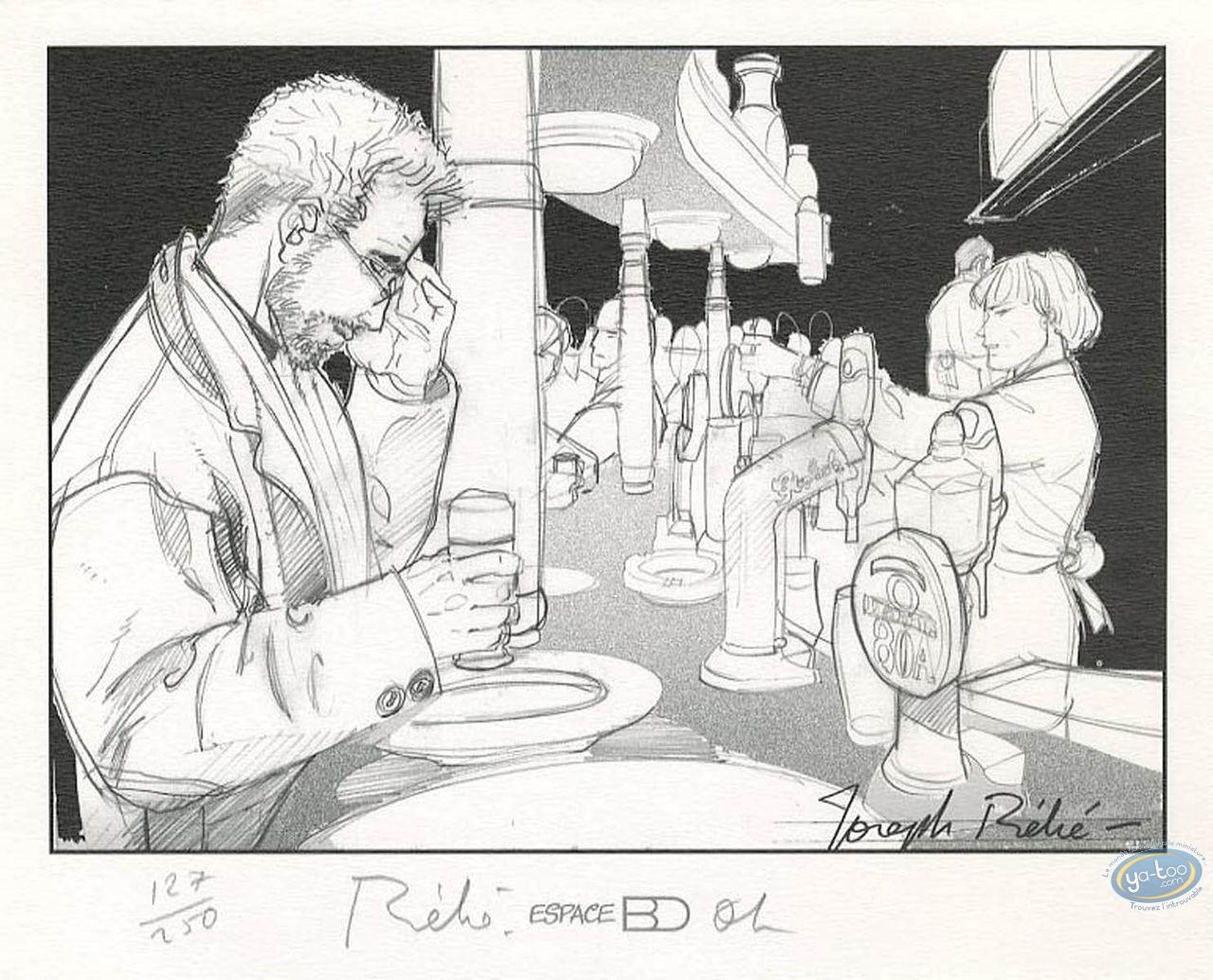 Ex-libris Offset, Décalogue (Le) : Le bar