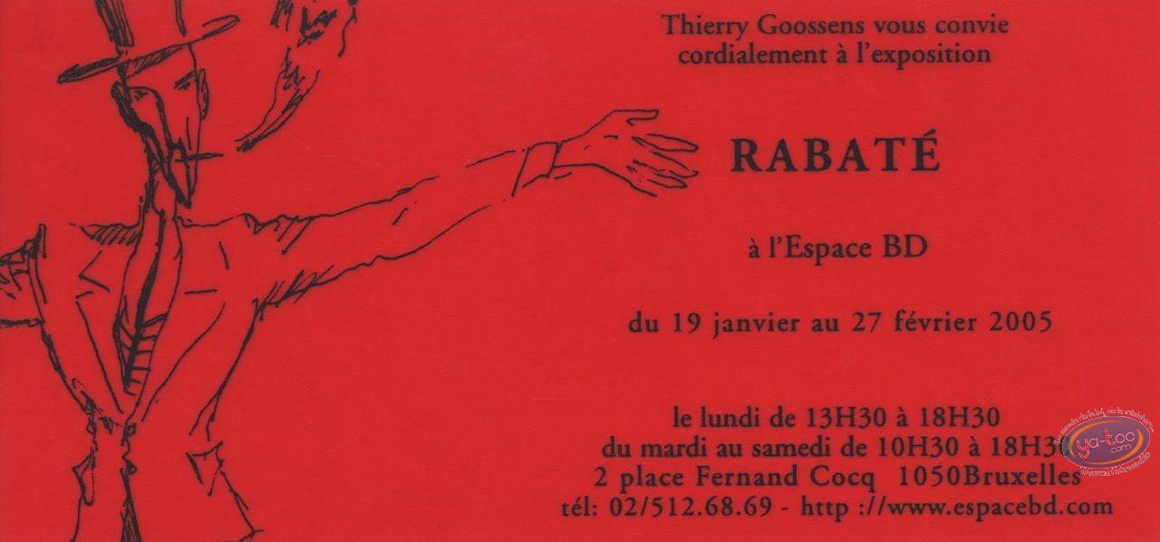 Ex-libris Sérigraphie, Ibicus : Invitation