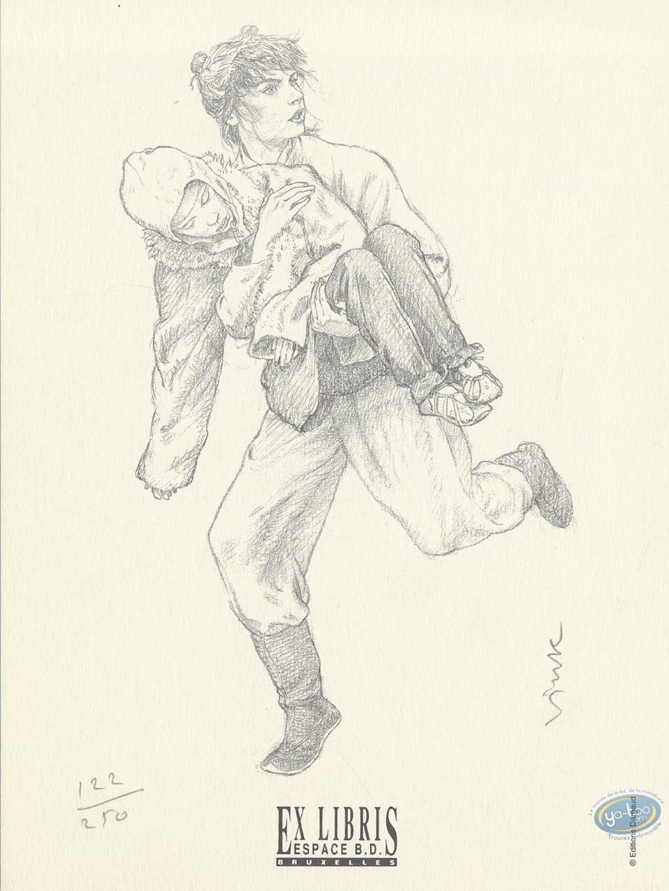 Ex-libris Offset, Moine Fou (Le) : He-Pao courant