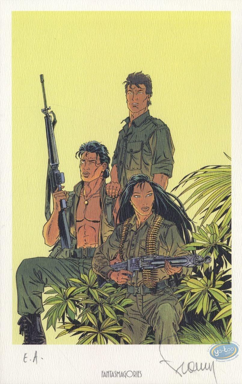 Ex-libris Offset, Largo Winch : L'Heure du Tigre