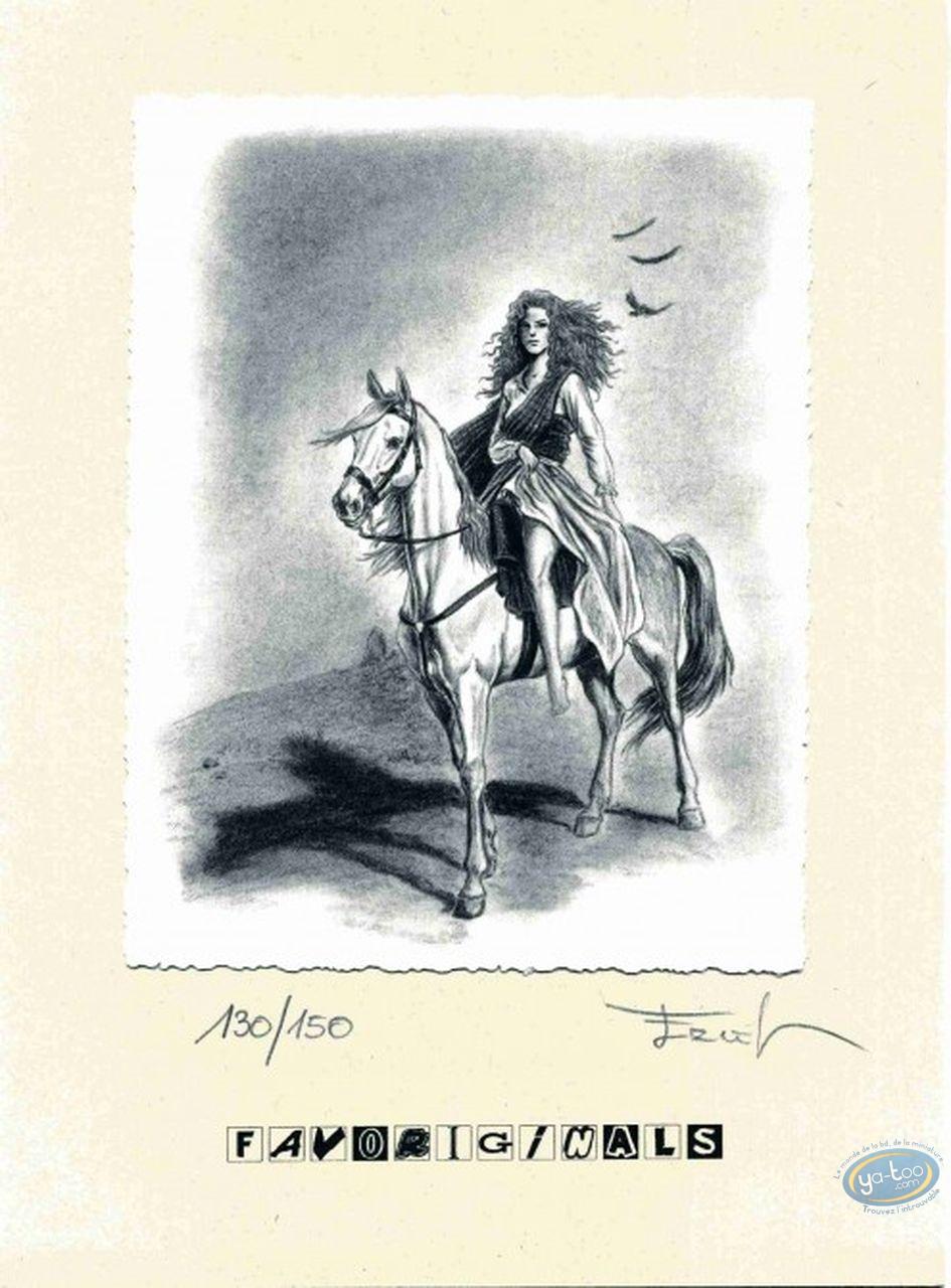 Ex-libris Offset, Claymore : A cheval