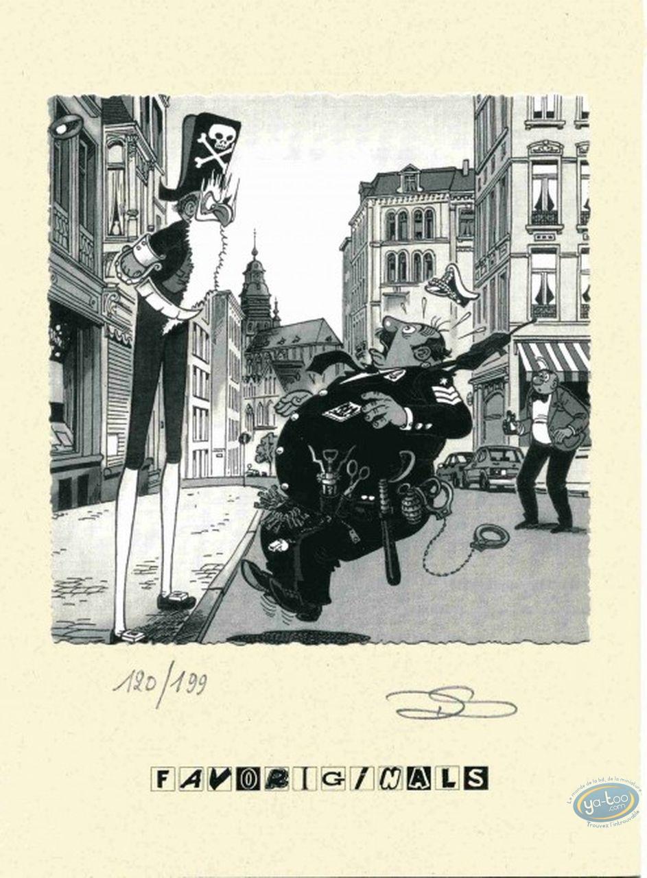 Ex-libris Offset, Néron : policier et pirate