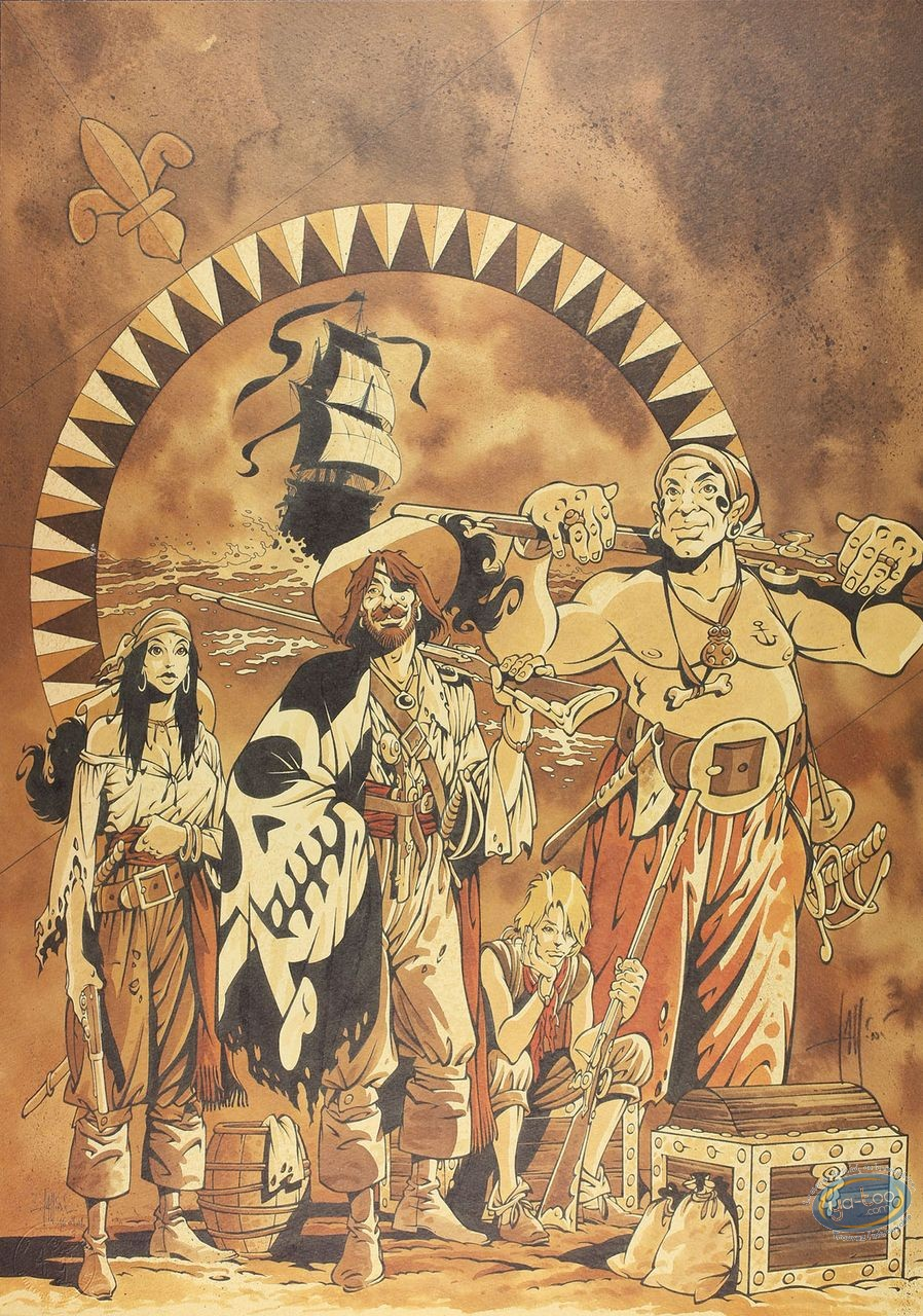 Affiche Offset, Manini, Pirates