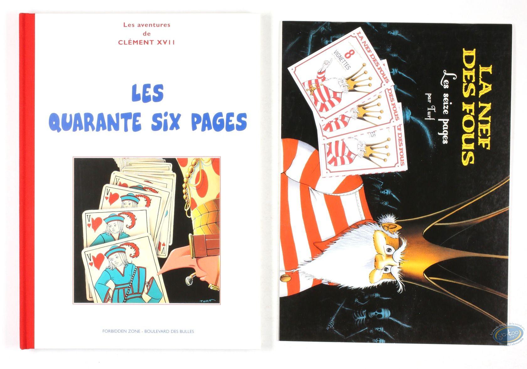 Tirage de tête, Nef des Fous (La) : Les quarante six pages