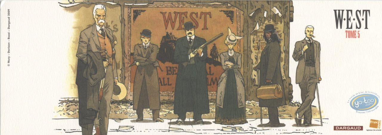 Ex-libris Offset, W.E.S.T : L'équipe