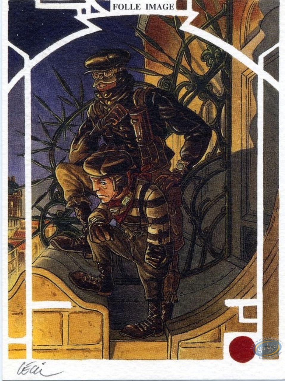 Ex-libris Offset, Réseau Bombyce (Le) : Mouche & Eustache