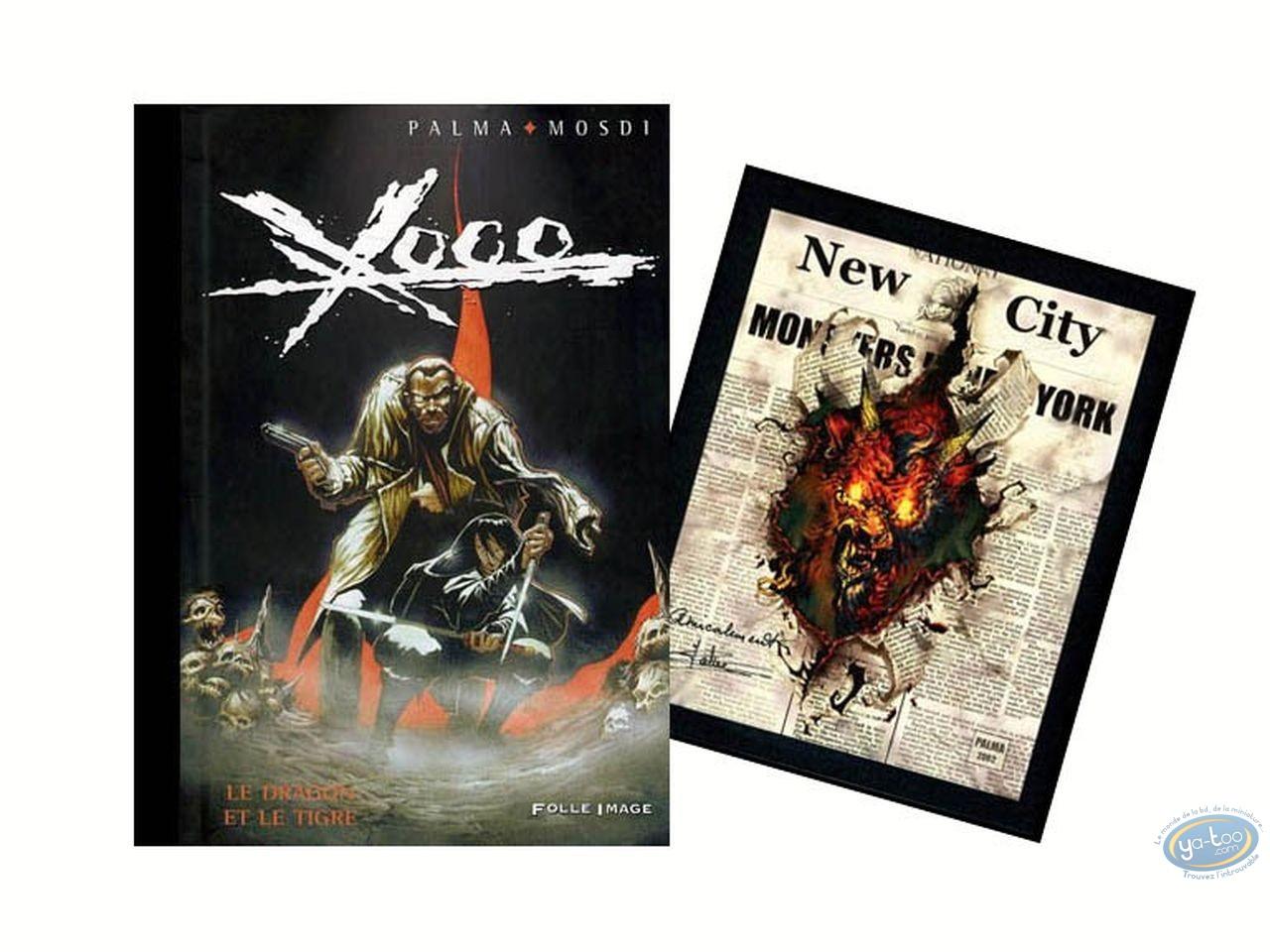 BD prix mini, Xoco : Le dragon et le tigre