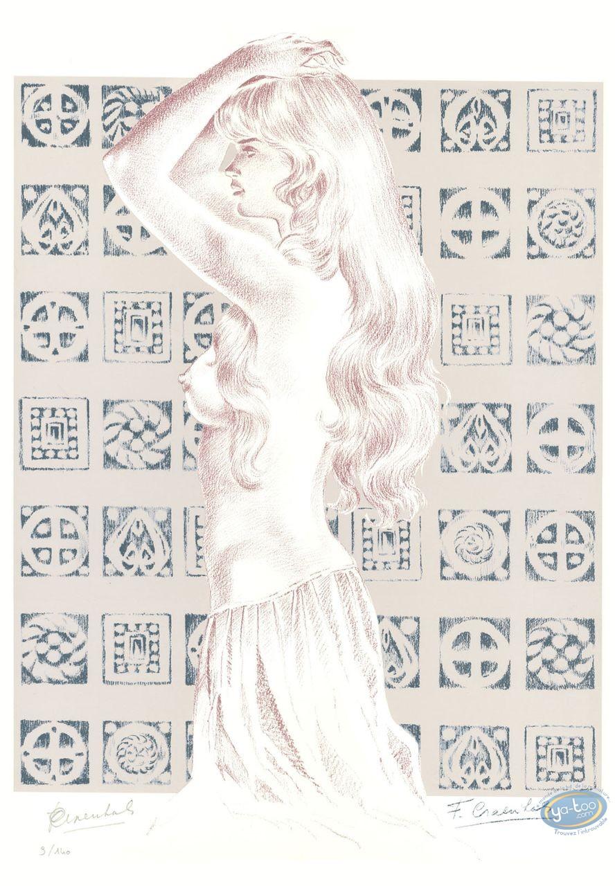 Affiche Sérigraphie, Chevalier Ardent : Gwendoline