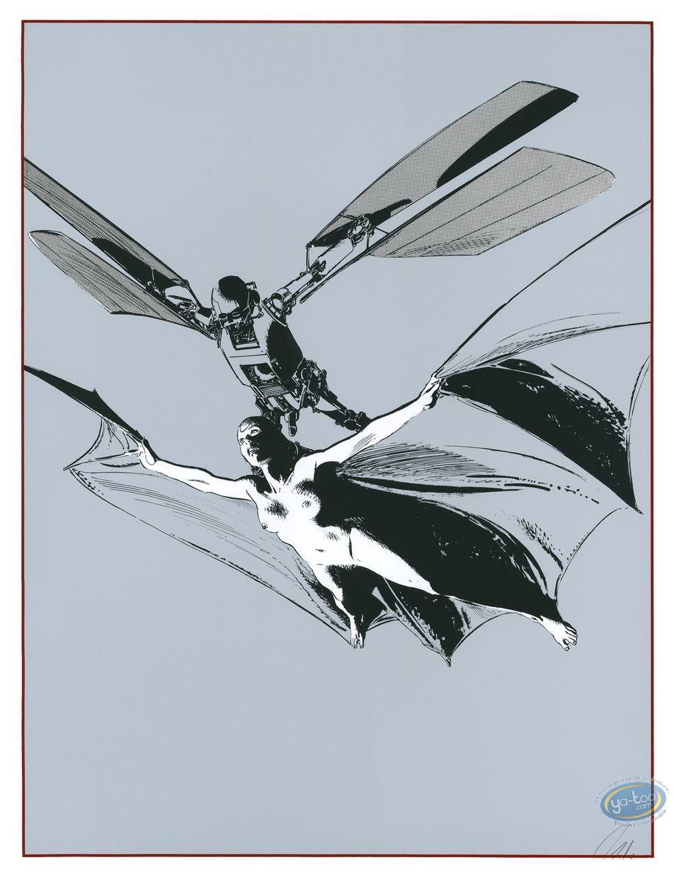 Affiche Sérigraphie, Chants Magnétiques : Chants Magnétiques Vol Nuptial
