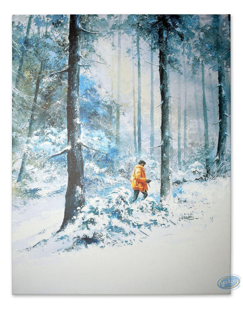 Impression sur toile, XIII : Là où va l'indien...