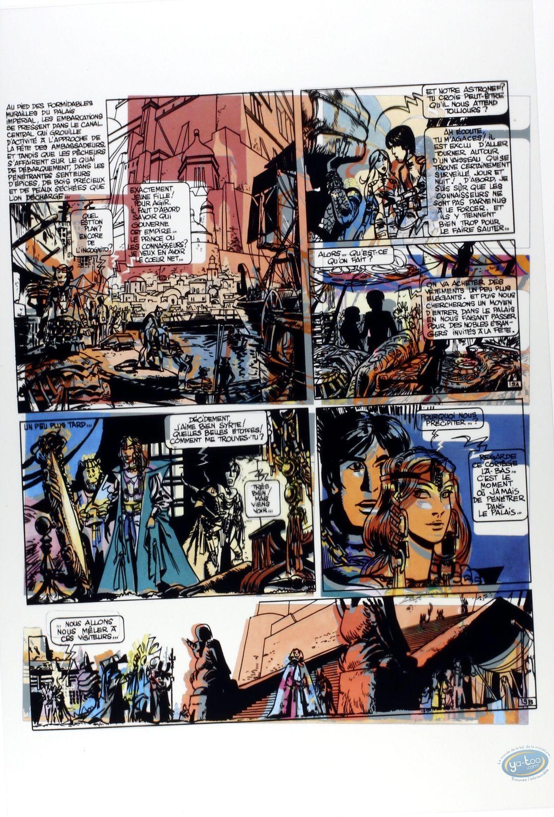 Album de Luxe, Valérian : Mézières, L'Empire des mille planètes, édition d'Art, Collection 'Les Maîtres Rêveurs', 33 EXEMPLAIRES