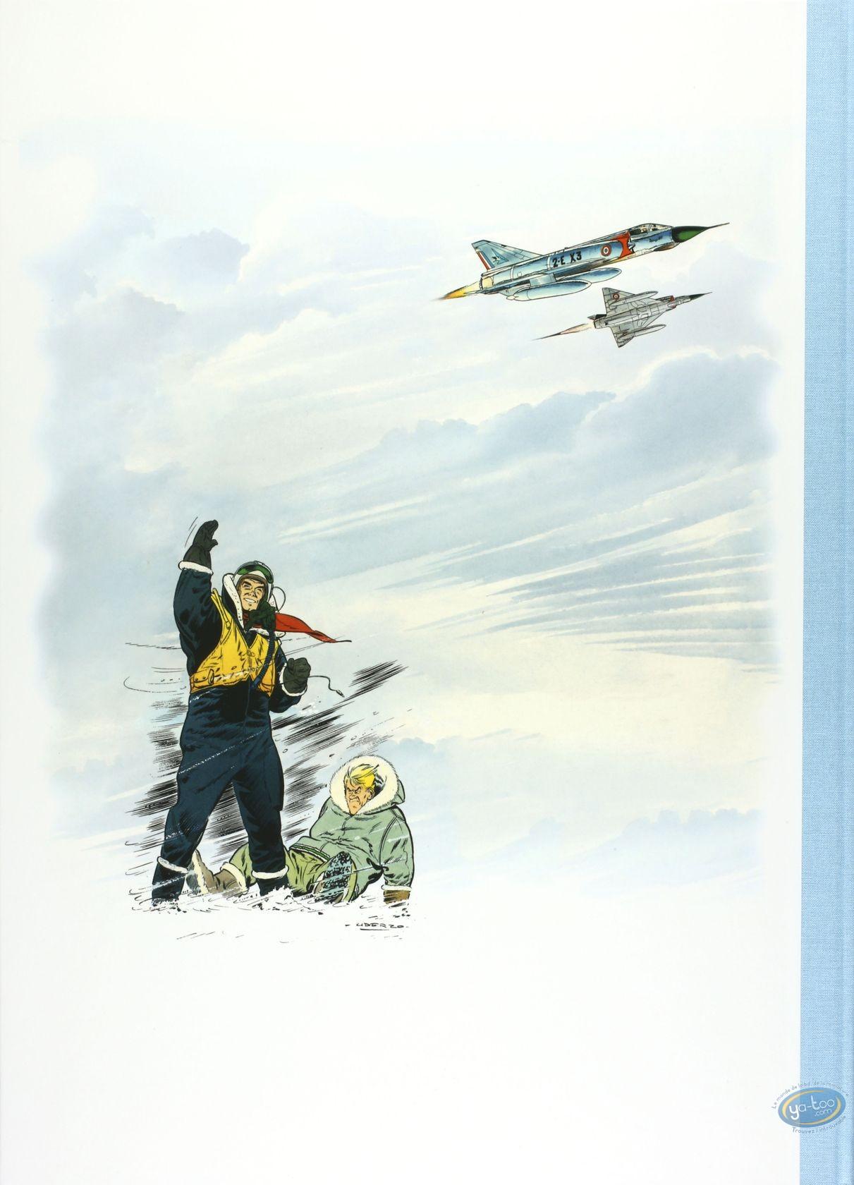 Album de Luxe, Tanguy et Laverdure : Uderzo, Danger dans le ciel, Collection 'Les Grands Classiques' version luxe