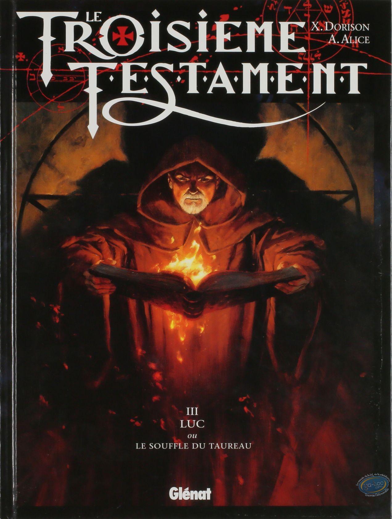 BD cotée, Troisième Testament (Le) : Luc, ou le souffle du taureau