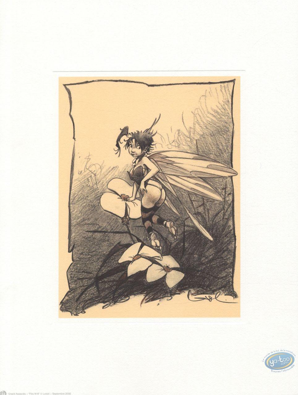 Affiche Offset, Peter Pan : Fée Clochette 6