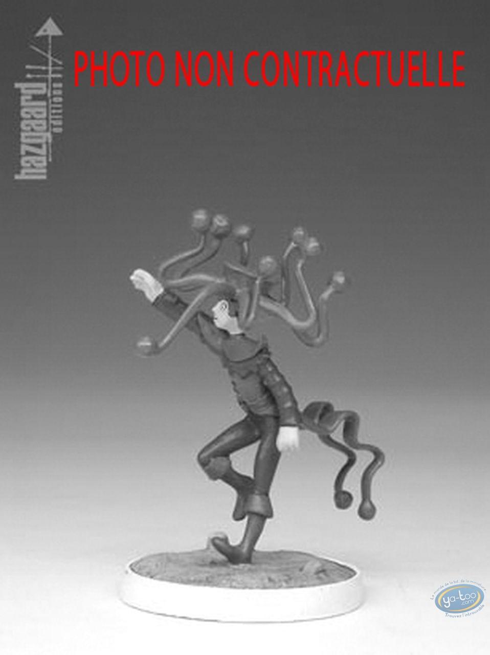 Figurine métal, Nef des Fous (La) : Fou Arthur - Fou Blanc (non peinte)