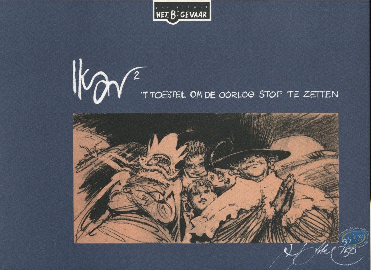 Ex-libris Sérigraphie, Ikar : Ikar 2