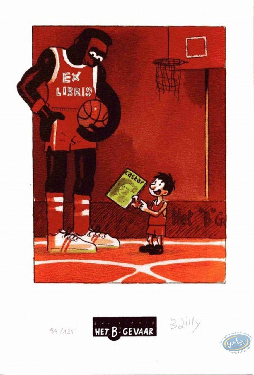 Ex-libris Offset, Ludo : Basket