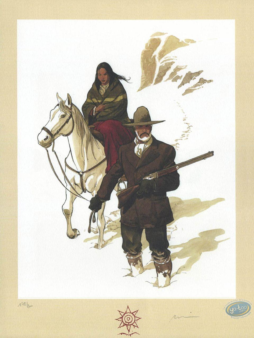 Affiche Offset, Etoile du Désert (L') : Dans la neige