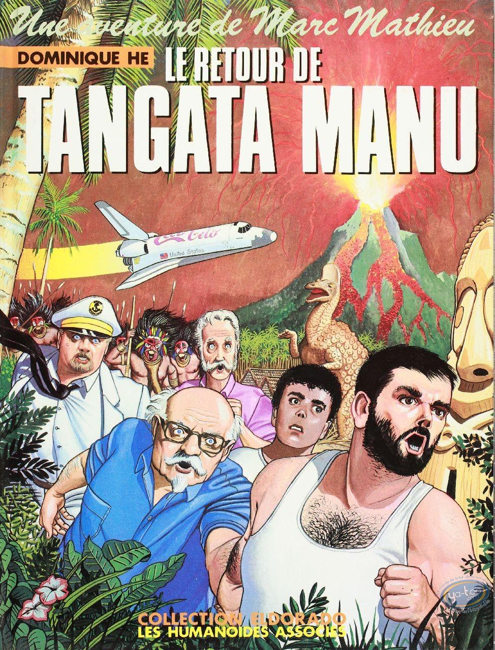 BD occasion, Aventure de Marc Mathieu (Une) : Le retour de Tangata Manu