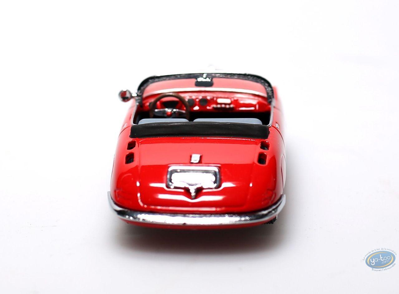 Figurine métal, Spirou et Fantasio : Turbotraction 1 rouge