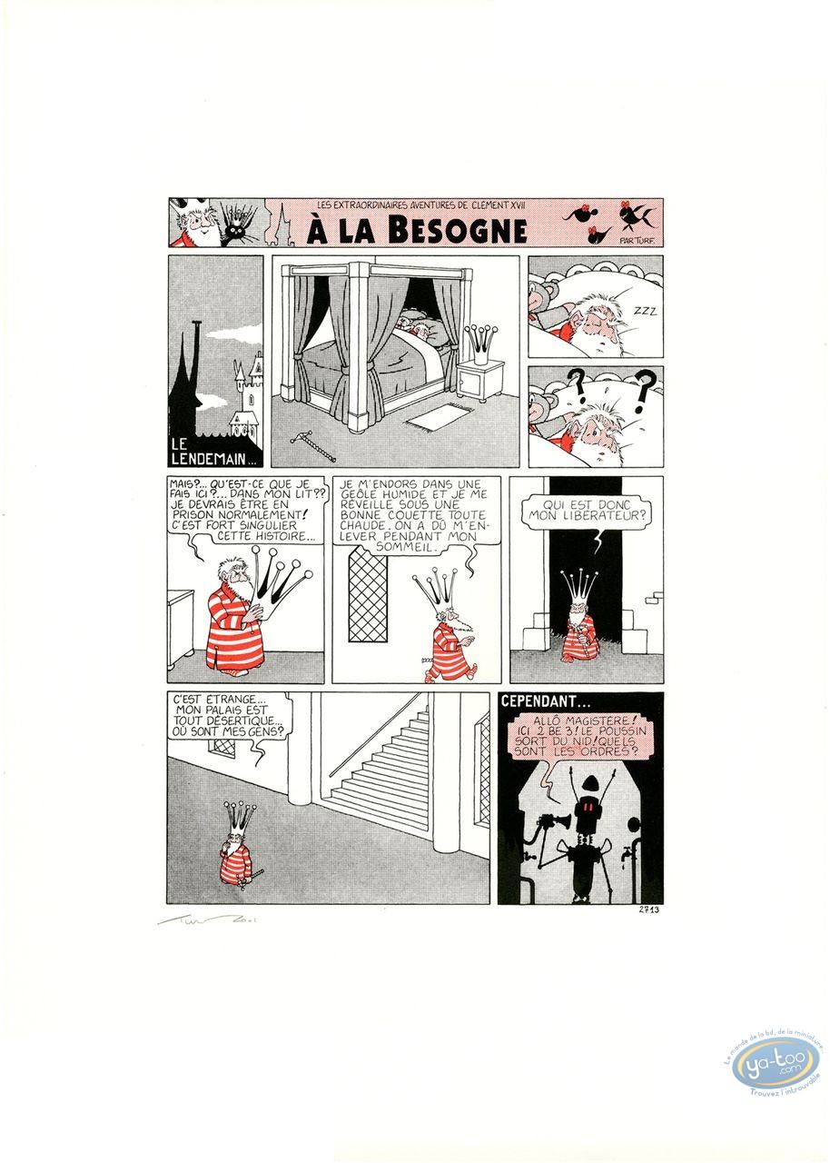 Affiche Sérigraphie, Nef des Fous (La) : Planche
