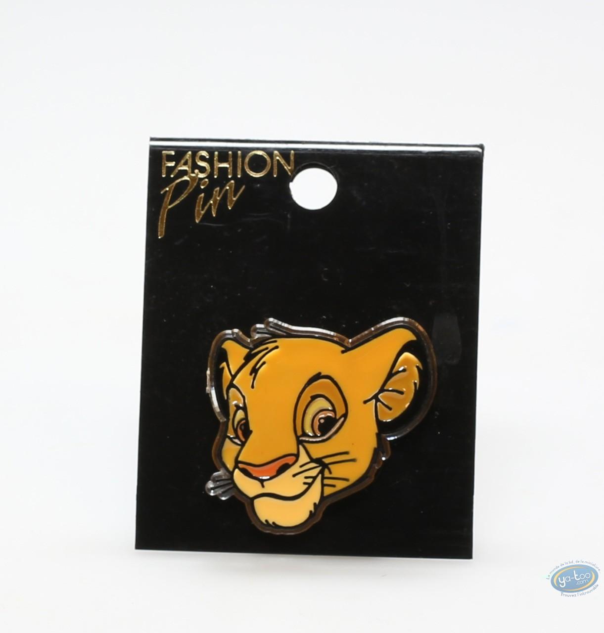 Mode et beauté, Roi Lion (Le) : Broches assorties, Roi Lion et Nala, Disney