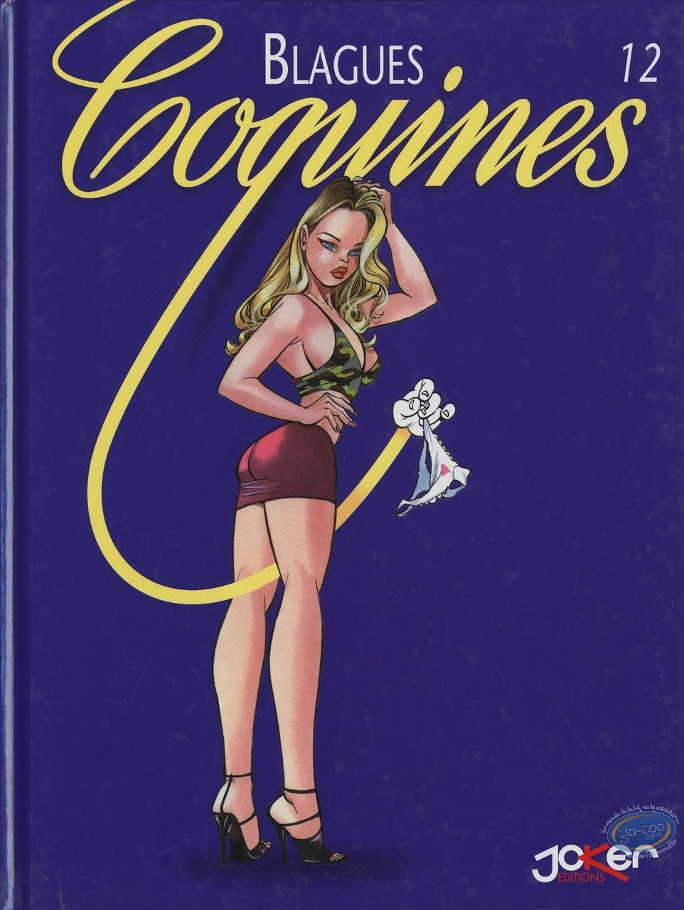 BD adultes, Blagues Coquines : Blagues Coquines, Tome 12