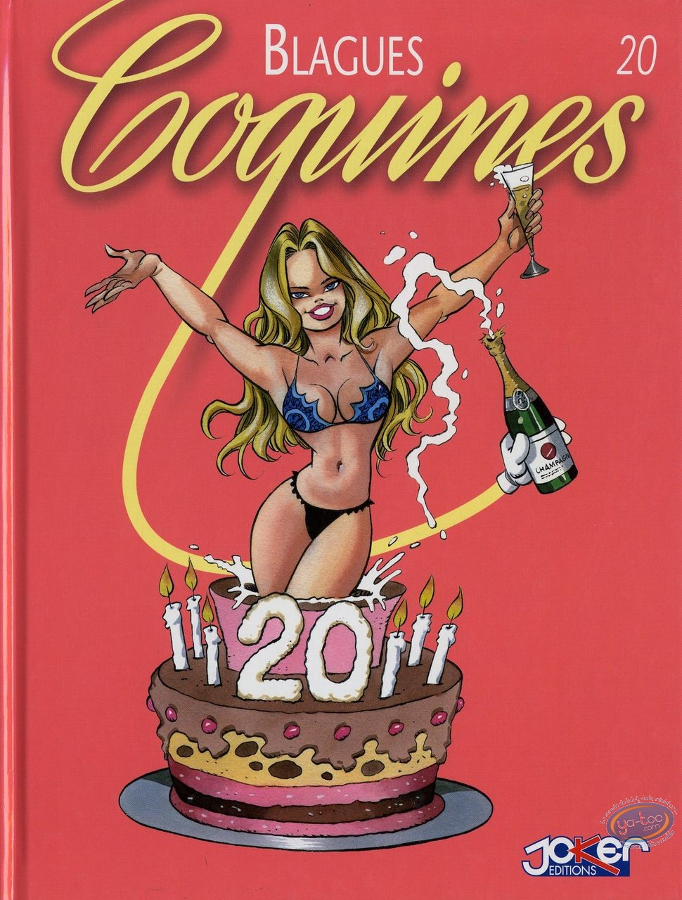 BD adultes, Blagues Coquines : Blagues Coquines, Tome 20