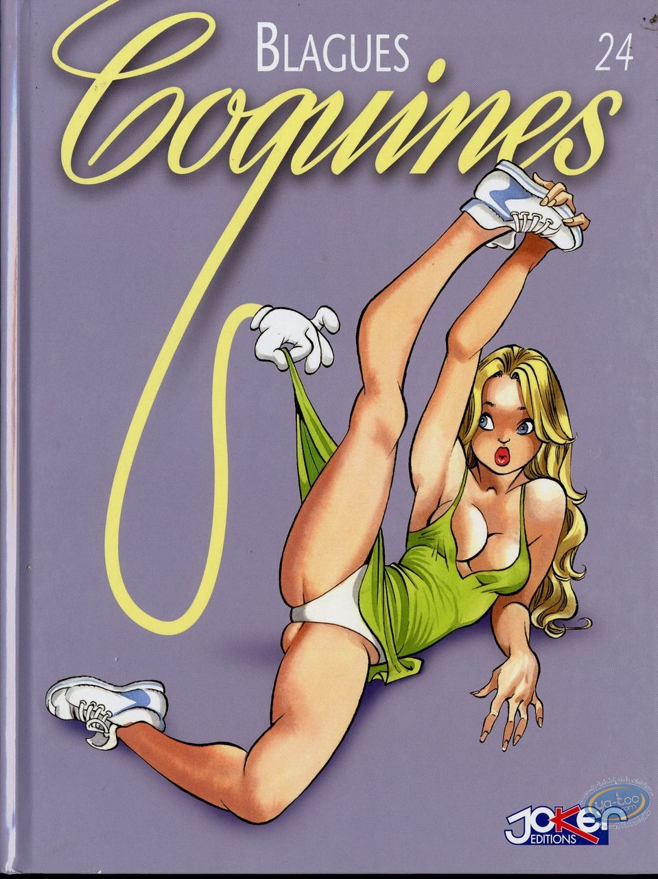 BD adultes, Blagues Coquines : Blagues Coquines, Tome 24