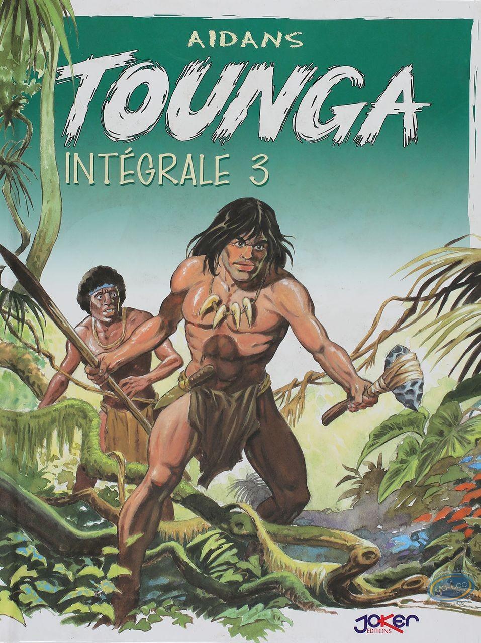 BD neuve, Tounga : Intégrale Tounga Tome 3