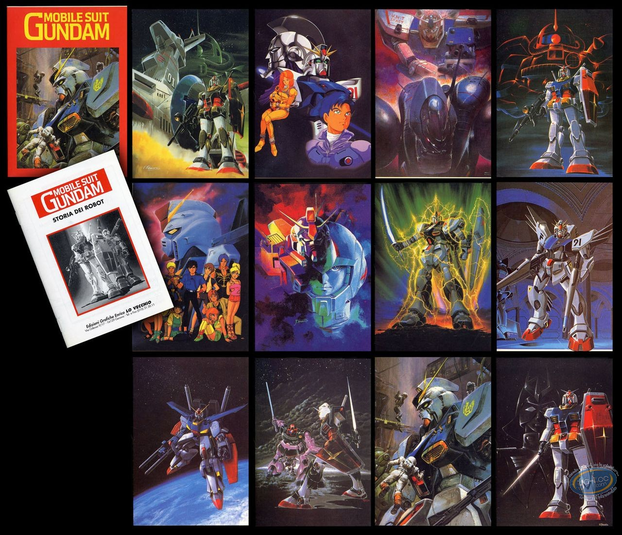 Portfolio, Mobile Suit Gundam : Mobile Suit Gundam