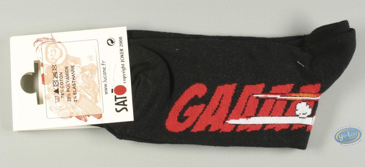Vêtement, Même pas Peeur : Chaussettes, Gaaaaz HONDA - noires
