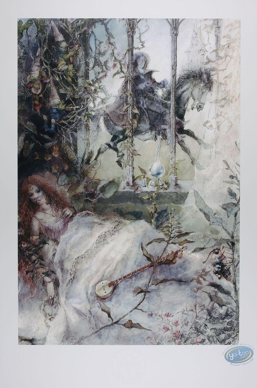 Affiche Offset, La belle au bois dormant