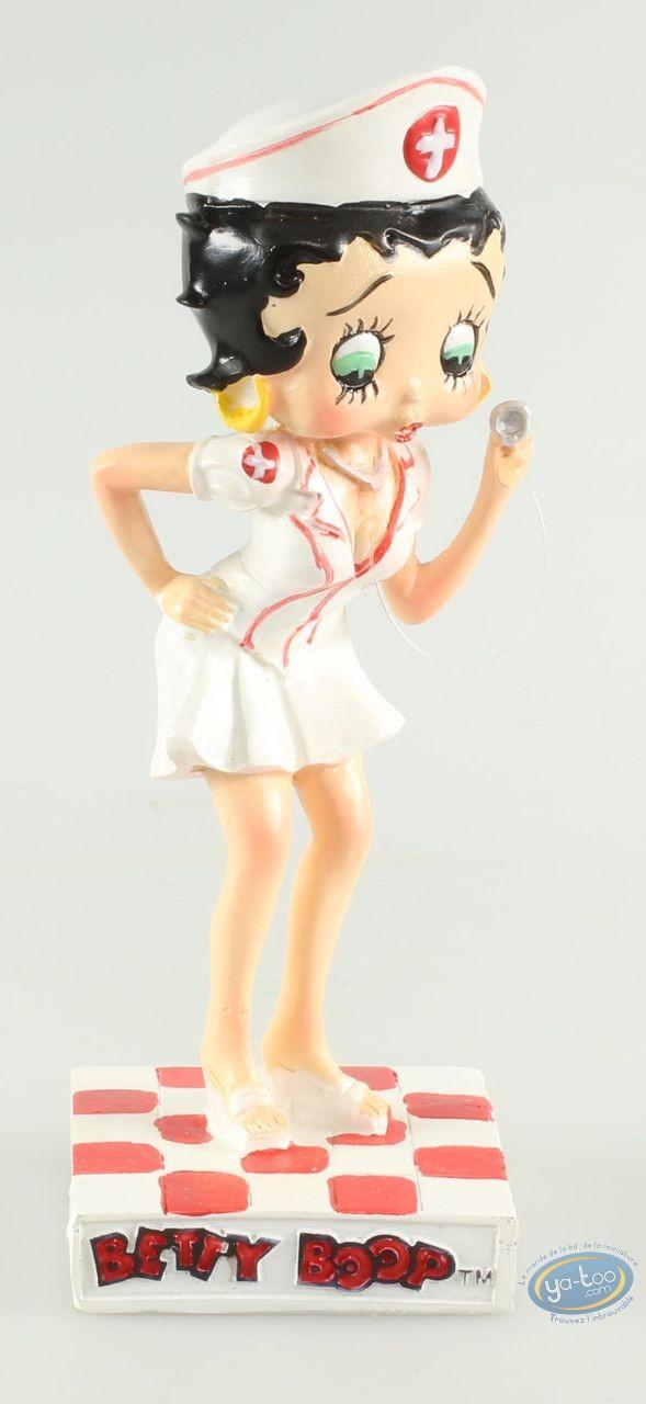 Statuette résine, Betty Boop : Betty Boop Infirmière