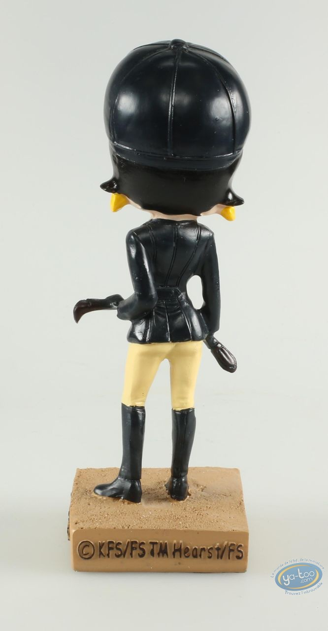 Statuette résine, Betty Boop : Betty Boop Cavalière