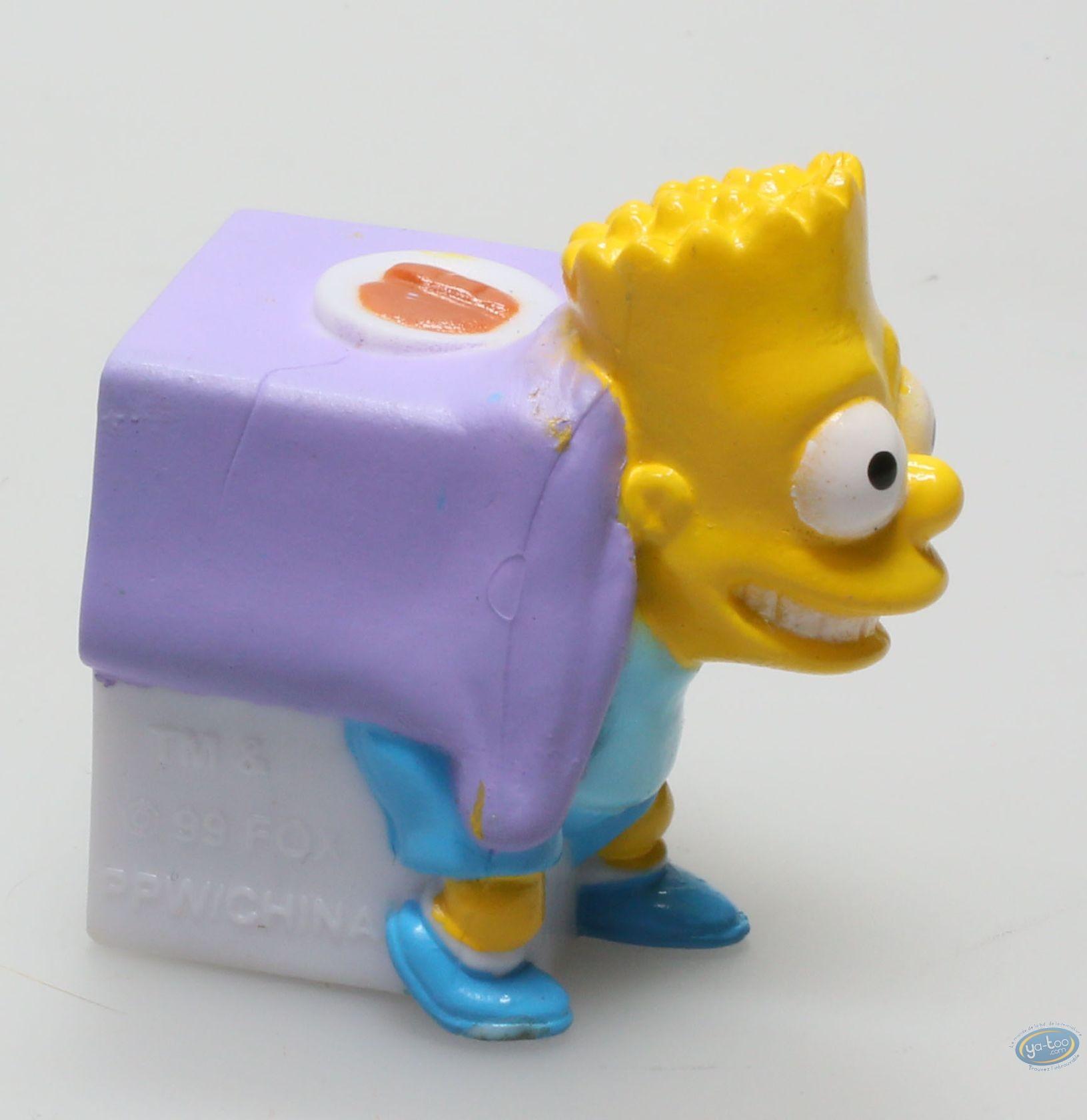 Figurine plastique, Simpson (Les) : Bart Simpson sous la table