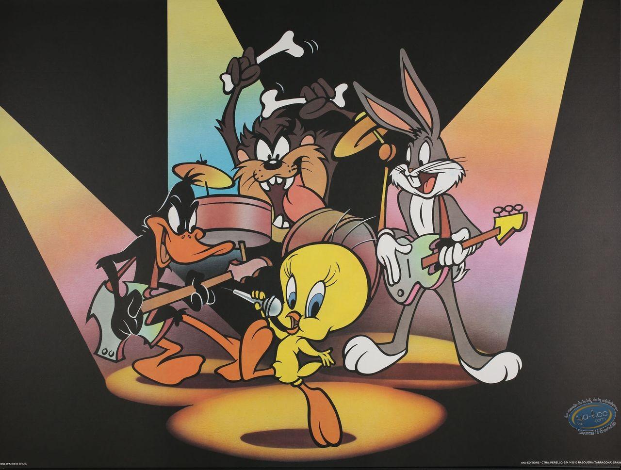 Affiche Offset, Looney Tunes (Les) : Le concert 80X60 cm