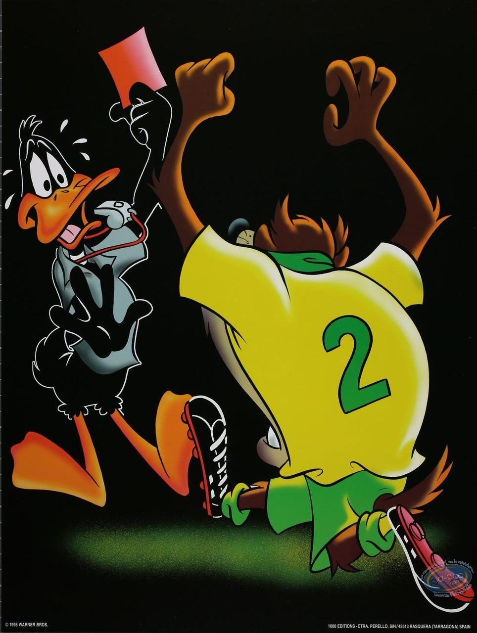 Affiche Offset, Looney Tunes (Les) : Carton rouge 30X40 cm