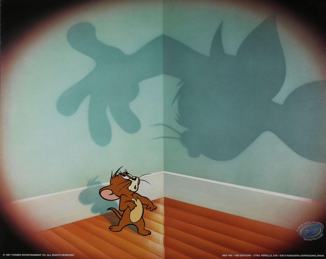 Affiche Offset, Tom et Jerry : Jerry piégé ? 50X40 cm