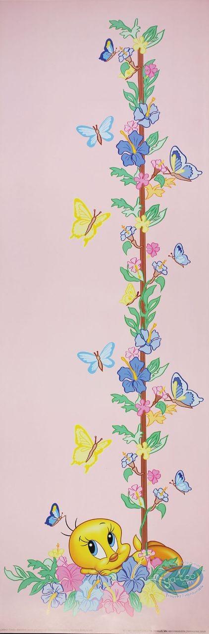 Affiche Offset, Titi : Titi papillons 30X90 cm