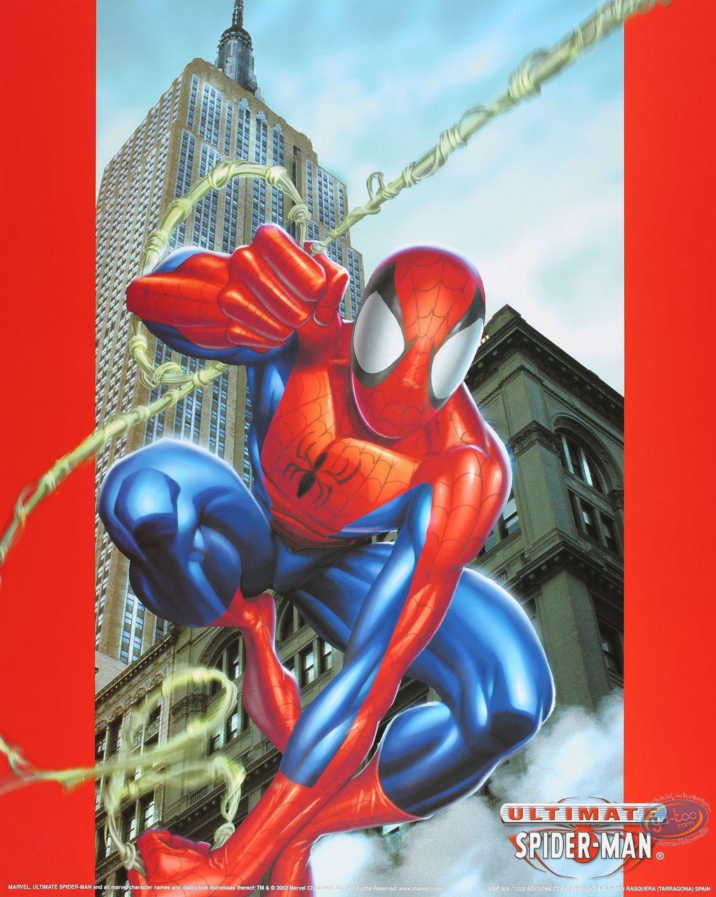 Affiche Offset, Spiderman : Building 40X50 cm