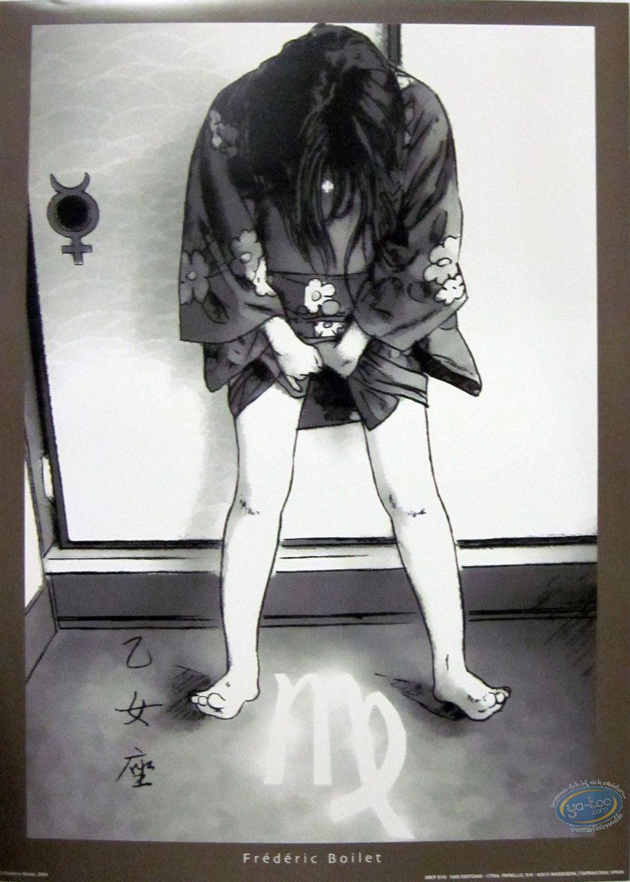Affiche Offset, Geisha