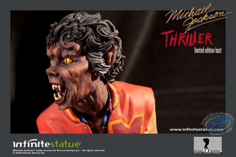 Statuette résine, Michael Jackson : Thriller