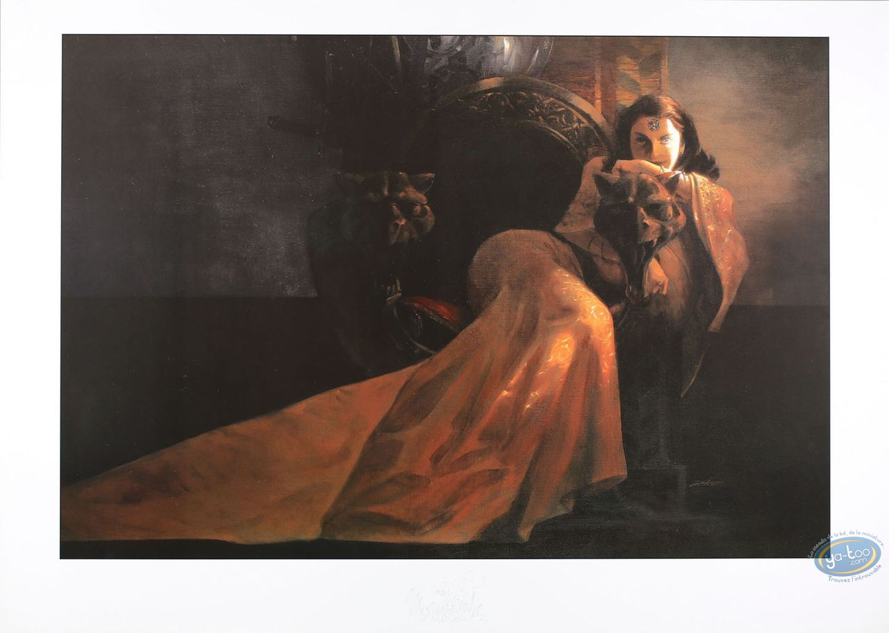 Affiche Offset, Alice : Alice, Femme assise