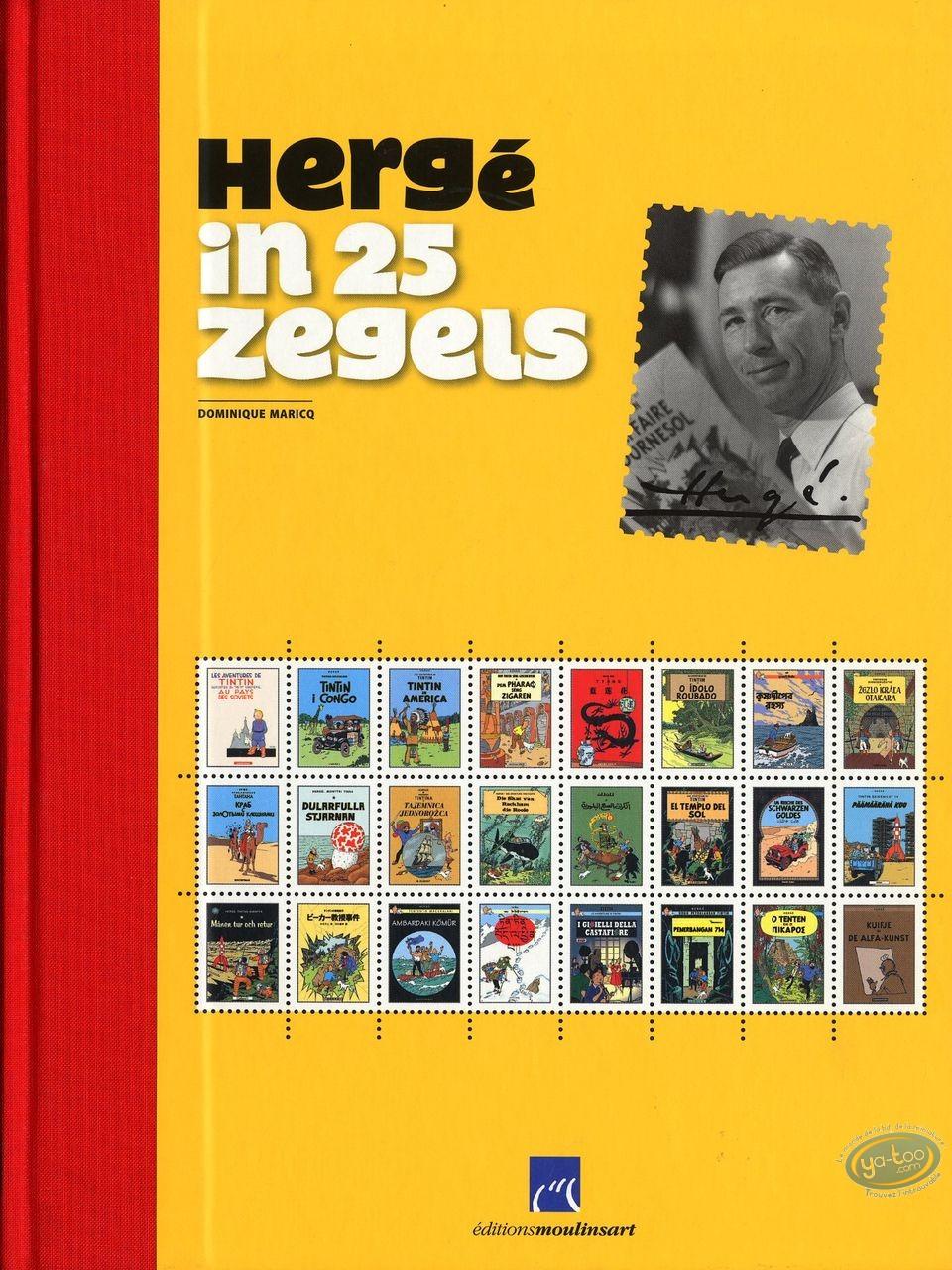 Album de Luxe, Tintin : Hergé in 25 zegels
