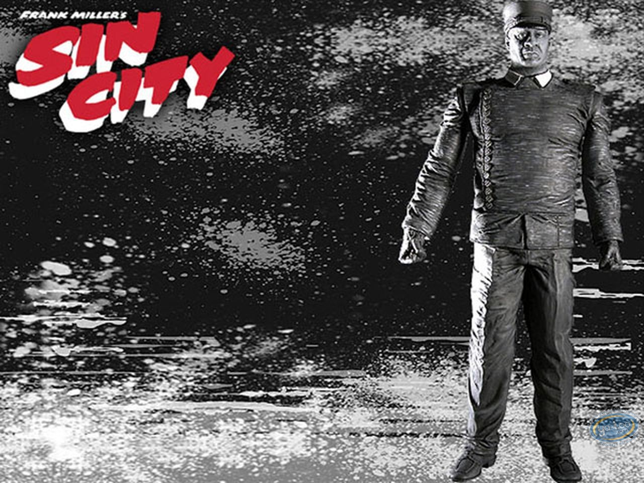 Action Figure, Sin City : Manute n&b
