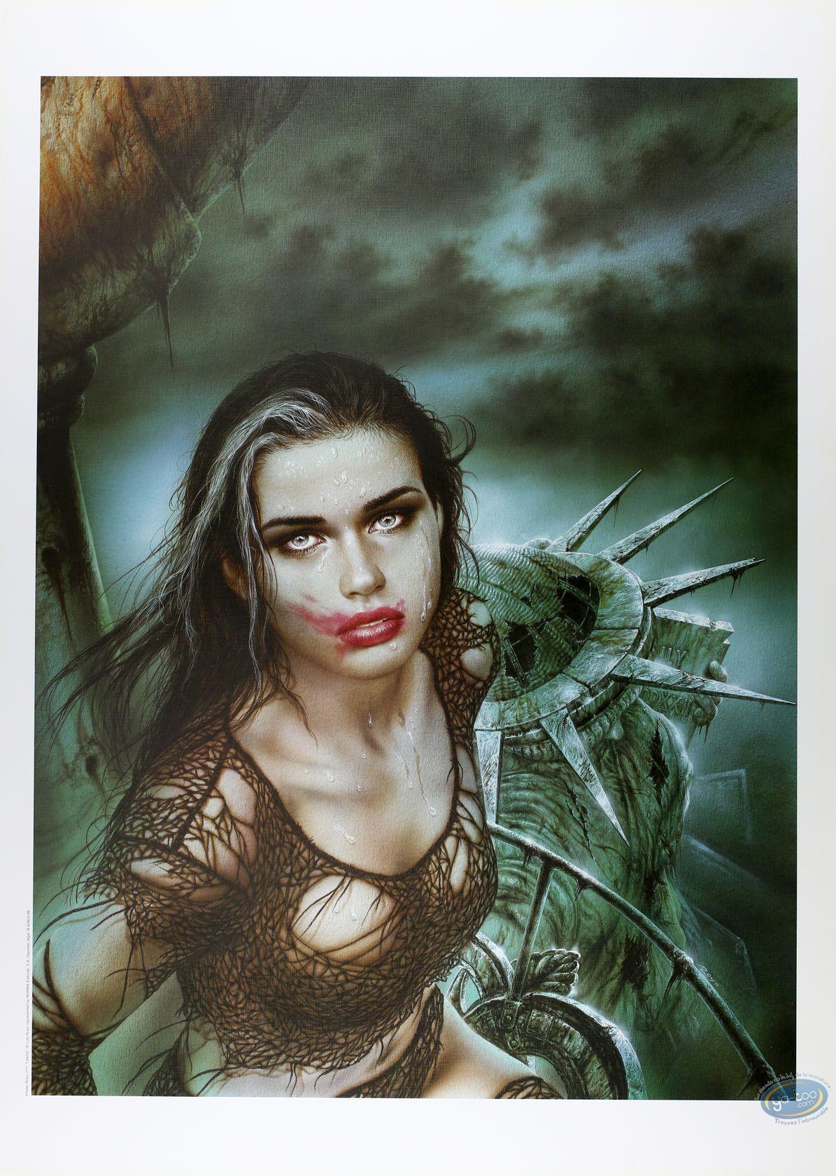 Affiche Offset, Royo : Liberty