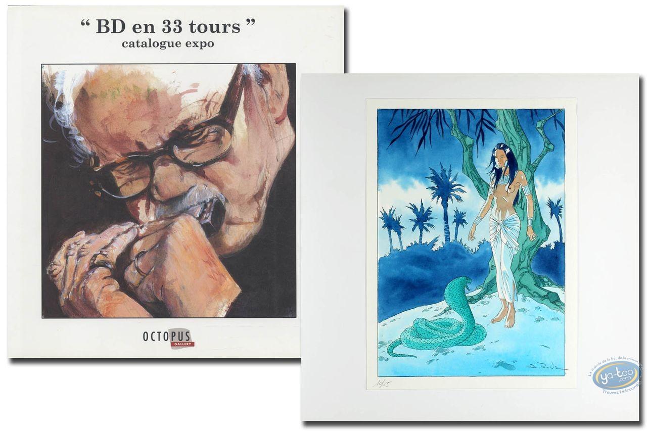 Livre Bd En 33 Tours Bd En 33 Tours Ex Libris Dany Ex Libris Roels Aquarelle