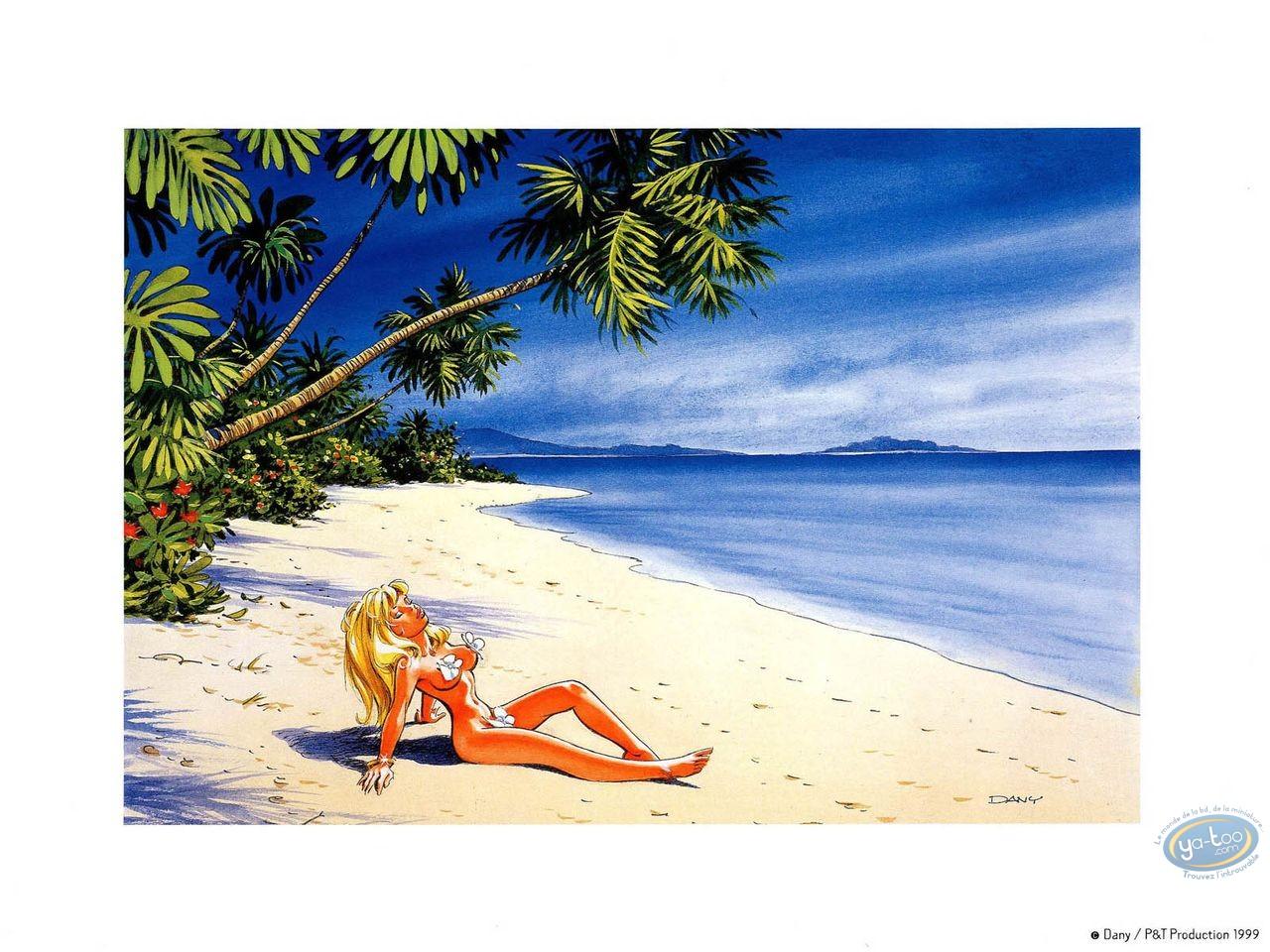 Affiche Offset, Olivier Rameau : La plage